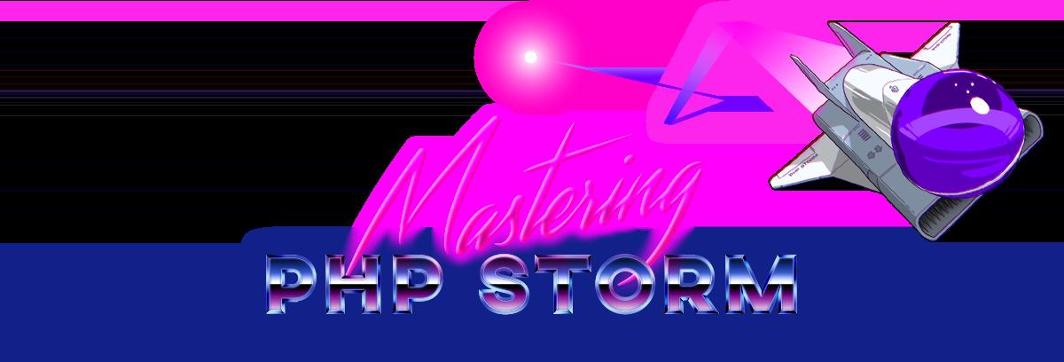 Mastering PhpStorm logo